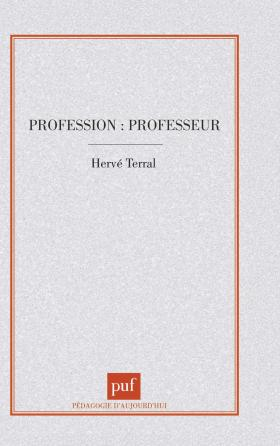 Profession : professeur