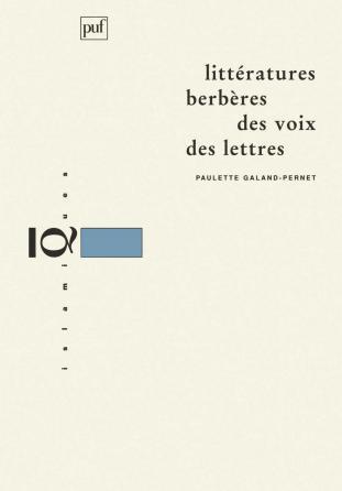 Littératures berbères, des voix, des lettres