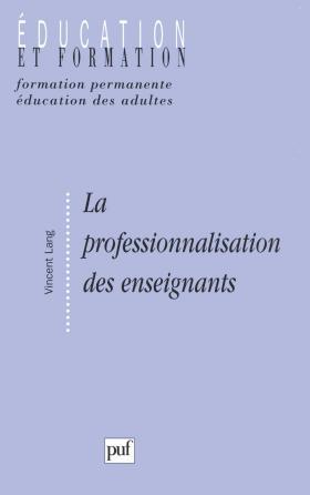 La professionnalisation des enseignants