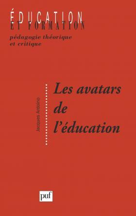 Les avatars de l'éducation