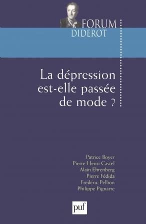 La dépression est-elle passée de mode?