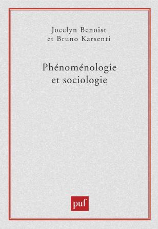 Phénoménologie et sociologie