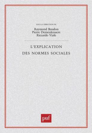 L'explication des normes sociales