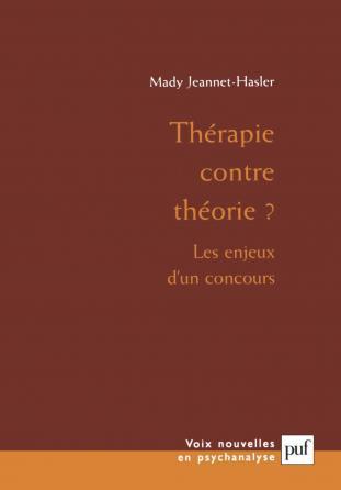 Thérapie contre théorie ?