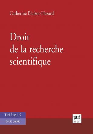 Droit de la recherche scientifique