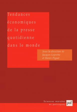 Tendances économiques de la presse quotidienne dans le monde