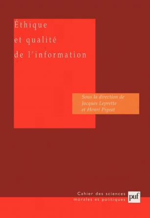 Éthique et qualité de l'information