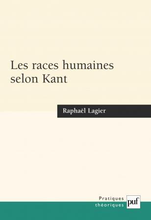 Les races humaines selon Kant