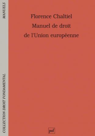 Manuel de droit de l'Union européenne