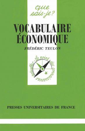 Vocabulaire économique