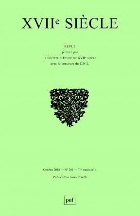 XVIIe siècle 2018, n° 281