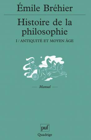 Histoire de la philosophie - tome 1