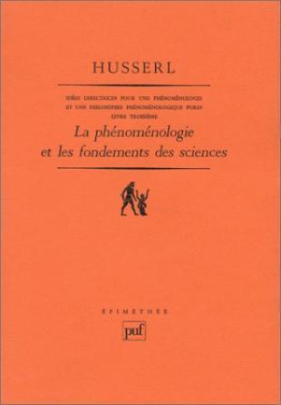 Idées directrices pour une phénoménologie et une philosophie phénoménologique pures