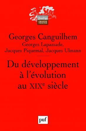 Du développement à l'évolution au XIXe siècle