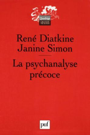 La psychanalyse précoce