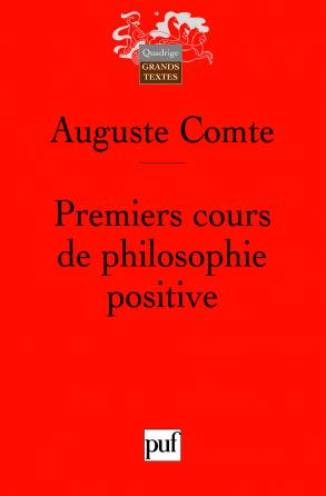 Premiers cours de philosophie positive
