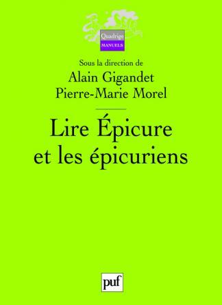 Lire Épicure et les épicuriens