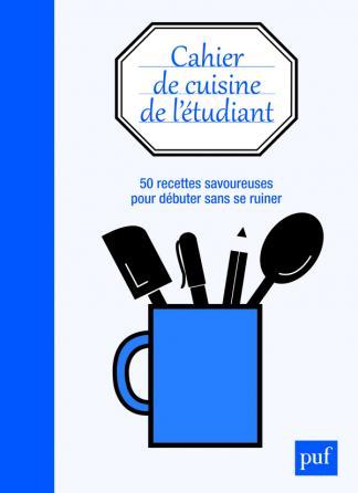 Cahier de cuisine de l'étudiant