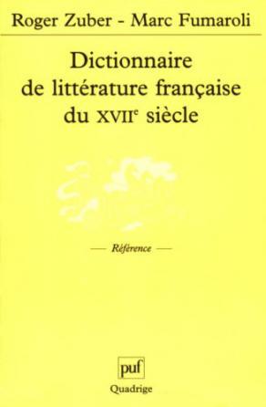 Dictionnaire de littérature française du XVIIe siècle