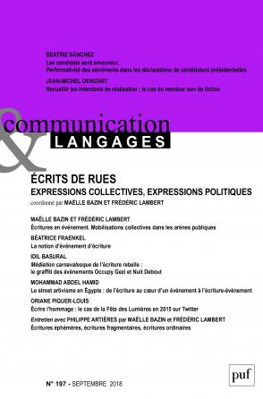 COMMUNICATION & LANGAGES- 2018 - 197