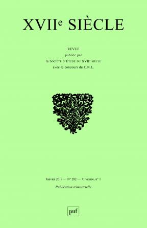 XVIIe Siècle 2019, n° 282