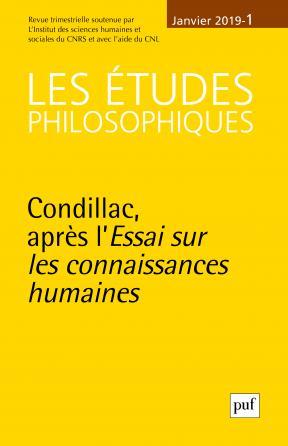 études philosophiques 2019, n° 1