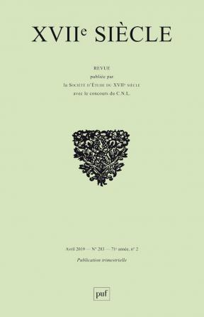 XVIIe siècle 2019, n° 283