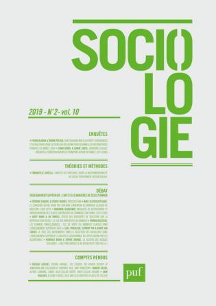 Sociologie 2019, n° 2