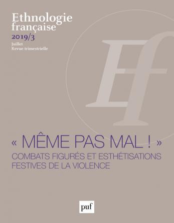 Ethnologie française, 2019, n° 3