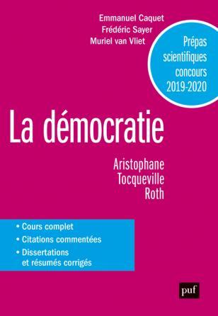 Prépas scientifiques 2019-2020. Français/Philosophie - La démocratie