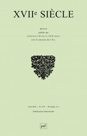 XVIIe siècle 2018, n° 279