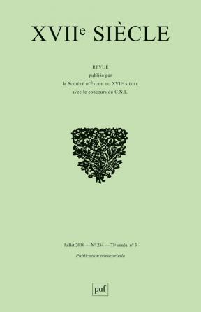 XVIIe siècle 2019, n° 284