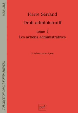 Droit administratif Tome 1