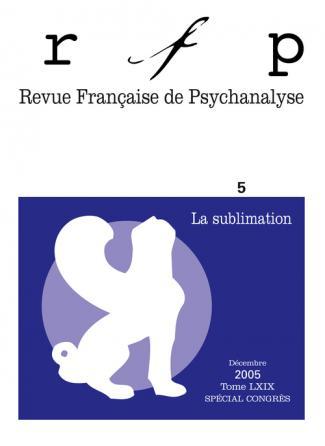 RFP 2005, t. 69, n° 5 (Congrès)