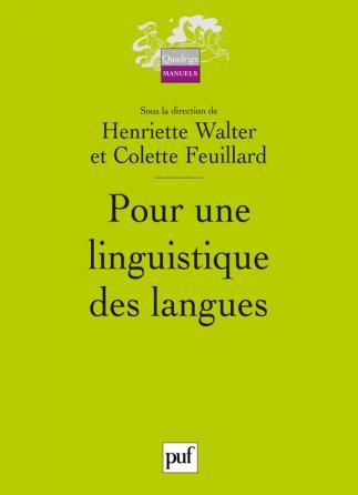 Pour une linguistique des langues