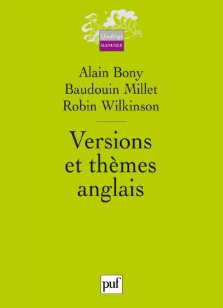 Versions et thèmes anglais