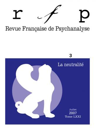 RFP 2007, t. 71, n° 3, Neutralité bienveillante