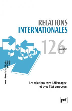 Relations internationales 2006, n° 126