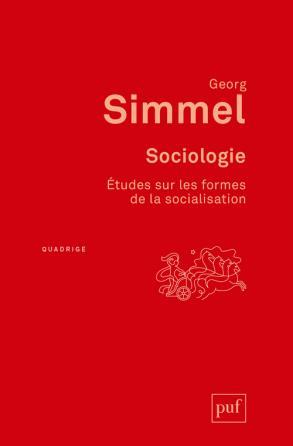 Sociologie. Études sur les formes de la socialisation