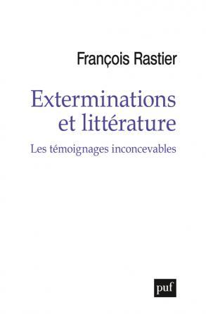 Exterminations et littérature