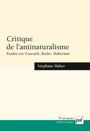 Critique de l'antinaturalisme