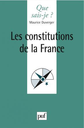 Les constitutions de la France