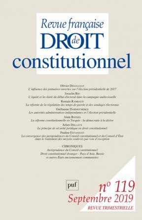 RFDC 2019, n° 119