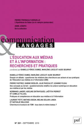COMMUNICATION & LANGAGES- 2019 - 201
