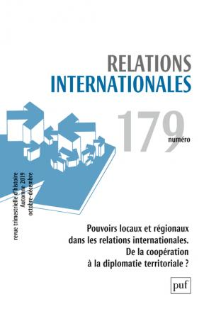 Relations internationales 2019, n° 179