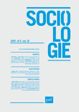 Sociologie 2019, n° 3