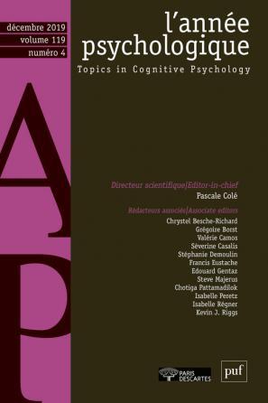 Année psychologique 119-4