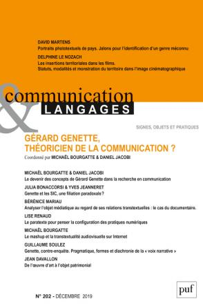 Communication et langages n°202