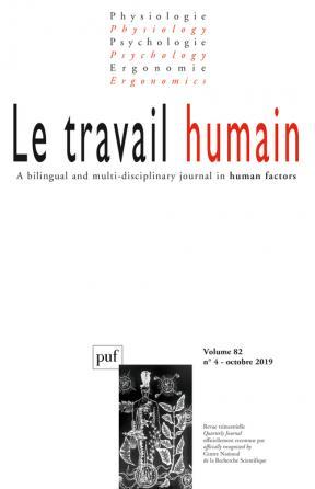 Travail humain 2019, vol. 82 (4)