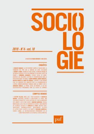 Sociologie 2019 n°4
